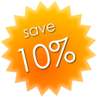 10 percent discount on Hire Car Amalfi rates