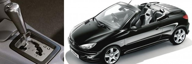 Peugeot 206 convertible automatic