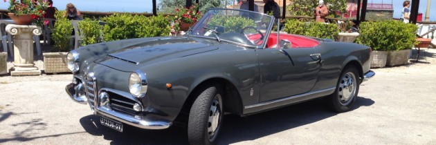 Alfa Romeo Giulia Spider 1963