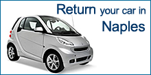Return your car in Naples